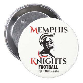 Memphis Knights Logo Button