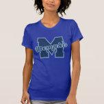 Memphis Letter Tee Shirt