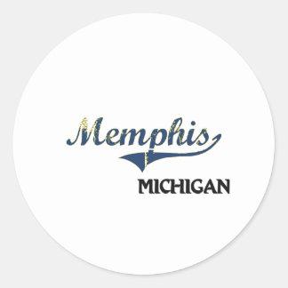 Memphis Michigan City Classic Sticker