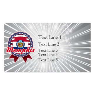 Memphis, MO Double-Sided Standard Business Cards (Pack Of 100)