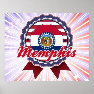 Memphis, MO Print