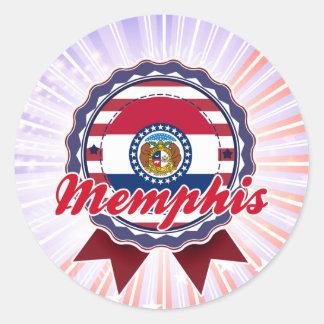 Memphis, MO Sticker