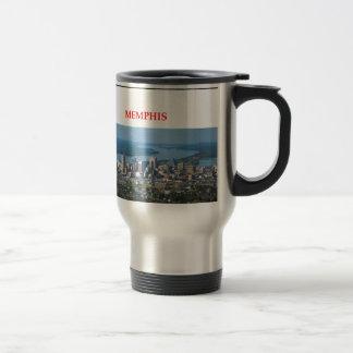 memphis 15 oz stainless steel travel mug