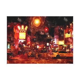 Memphis Nights Canvas Print