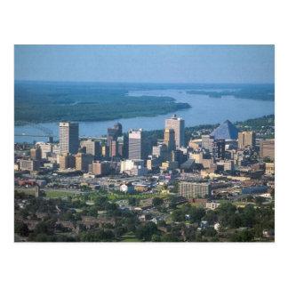 Memphis, postal del horizonte del TN