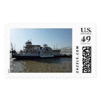 Memphis riverboat stamp (large)