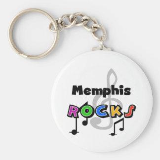 Memphis Rocks Keychain