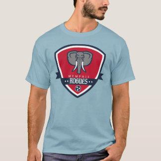 Memphis Rogues Soccer Rambling Rogues Badge Shirt