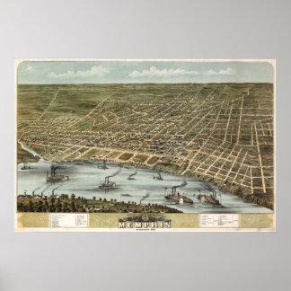 Memphis (Ruger) - BigMapBlog.com 1870 Póster