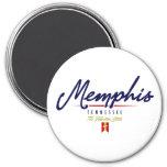 Memphis Script Fridge Magnet