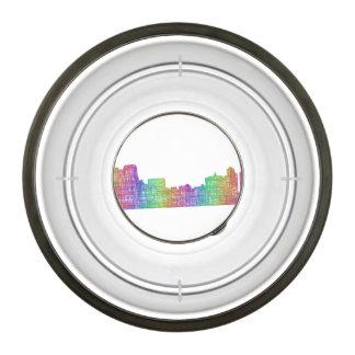 Memphis skyline bowl