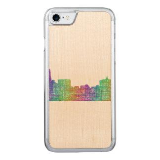 Memphis skyline carved iPhone 7 case