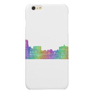 Memphis skyline glossy iPhone 6 plus case