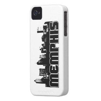 Memphis Skyline iPhone 4 Case
