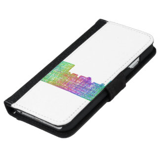 Memphis skyline iPhone 6/6s wallet case