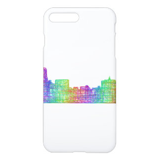 Memphis skyline iPhone 7 plus case