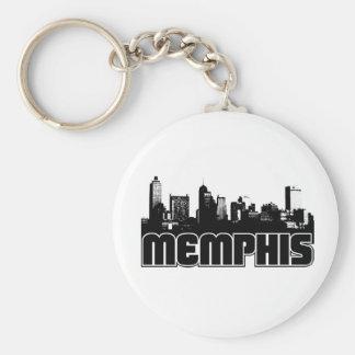 Memphis Skyline Keychain