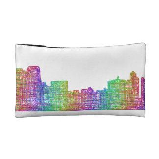 Memphis skyline makeup bag