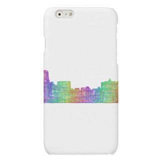 Memphis skyline matte iPhone 6 case