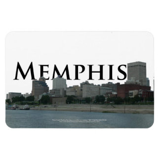 Memphis Skyline with Memphis in the Sky Magnet