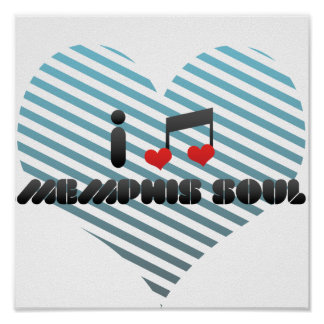 Memphis Soul fan Print