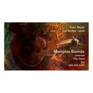 Memphis Sounds Double-Sided Standard Business Cards (Pack Of 100)