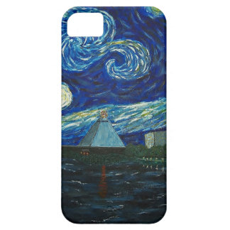 """""""Memphis Starry Night"""" by Jack Lepper iPhone 5 Cover"""