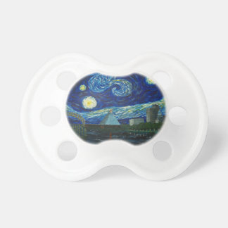 """""""Memphis Starry Night"""" by Jack Lepper Pacifier"""