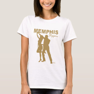 Memphis Steppers Baby Doll gold silhouette T-Shirt