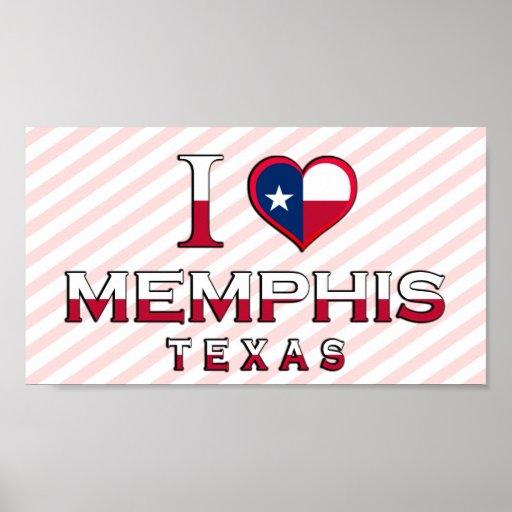Memphis, Tejas Poster