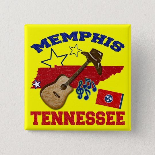 Memphis, Tennessee Button