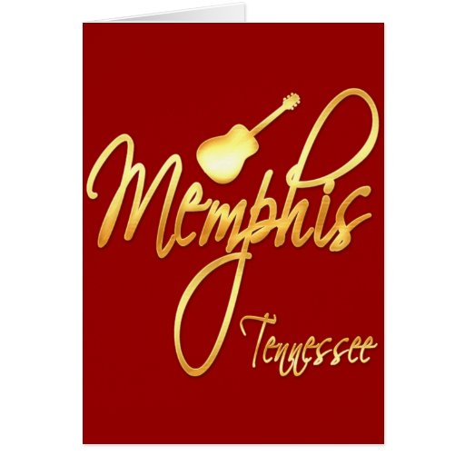 Memphis, Tennessee Card