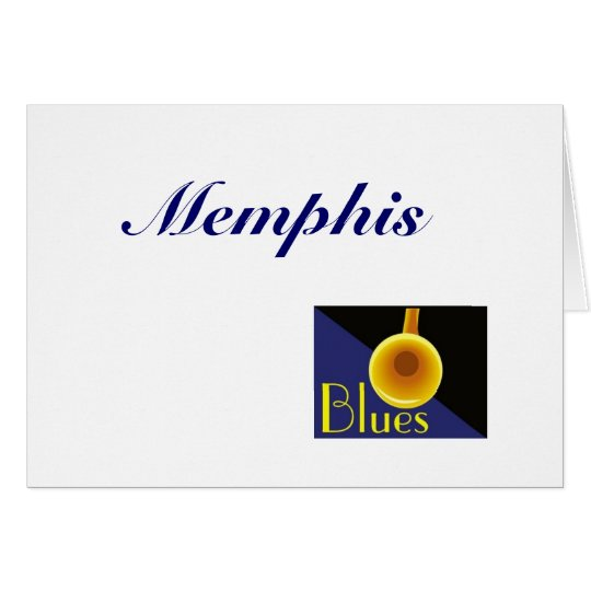 Memphis Tennessee Card