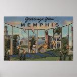 Memphis, Tennessee - escenas grandes de la letra Poster