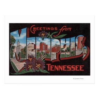 Memphis, Tennessee - escenas grandes de la letra Tarjeta Postal