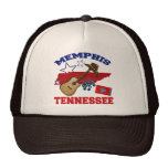 Memphis, Tennessee Gorros Bordados