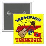 Memphis, Tennessee Pinback Button