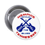Memphis, Tennessee Pinback Buttons