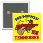 Memphis, Tennessee Pins