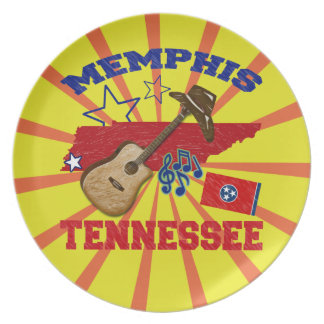 Memphis, Tennessee Plate