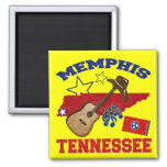 Memphis, Tennessee Refrigerator Magnets