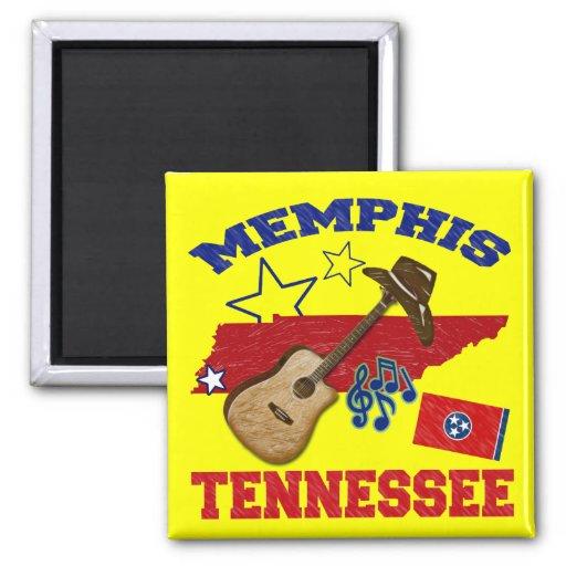 Memphis, Tennessee Refrigerator Magnets