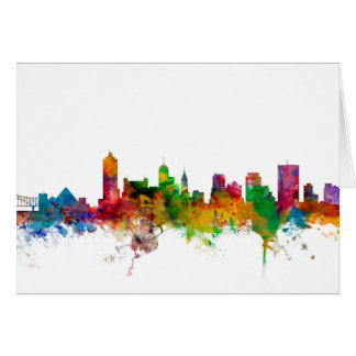 Memphis Tennessee Skyline Card