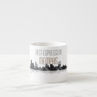 MEMPHIS, TENNESSEE SKYLINE ESPRESSO CUP