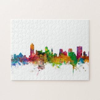 Memphis Tennessee Skyline Jigsaw Puzzle