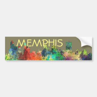 MEMPHIS, TENNESSEE SKYLINE SP - BUMPER STICKER
