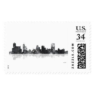 MEMPHIS, TENNESSEE SKYLINE STAMP