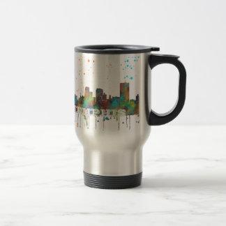 MEMPHIS, TENNESSEE SKYLINE - Travel Mug