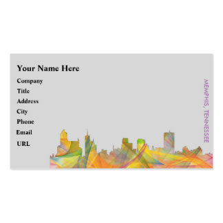 MEMPHIS, TENNESSEE SKYLINE WB1 - BUSINESS CARD