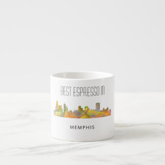 MEMPHIS, TENNESSEE SKYLINE WB1 - ESPRESSO CUP